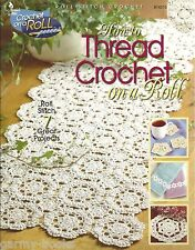 How to Thread on a Roll Stitch Crochet Instruction Patterns Annie's Attic NEW