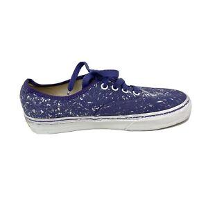 Purple Crayola Vans Low Top Sneakers Shoes Mens Size 5 Scribbled Women's 6.5