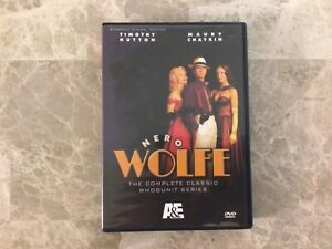 Nero Wolfe-The Complete Classic Whodunit Series 8-Disc DVD Set (ARC1-C16box1)