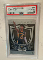 2019 Panini Prizm Draft Pick Ja Morant Rookie #11 PSA 10 Mint GEM RC