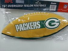 """NFL 15"""" Oversized Inflatable Football, Green Bay Packers, NEW"""