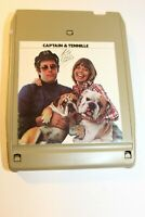 8 track tape Captain and Tennille Love will Keep us together Works tested 1975