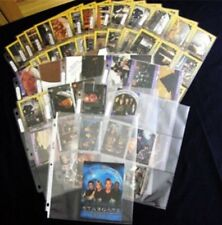 STARGATE COLLECT-A-CARD 1994 COMPLETE WITH PROMOS MINT