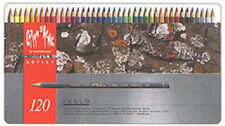 Caran d'Ache Pablo Colored Pencil Set Of 120 Metal Box (666.420)