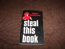 """Steal This Book Abbie Hoffman 1971 first Pirate ed. SIGNED """"Yippie! Abbie"""""""