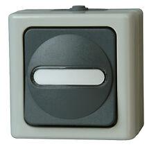 Kopp Blue Electric Aufputz Feuchtraum Taster Wechsler 561456001