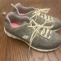 Skechers Womens Size 8 Flex Elite Memory Foam Athletic Sneaker Shoes 11863EW