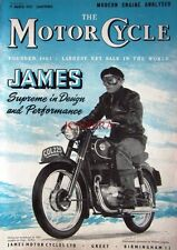 17 Mar 1955 JAMES 'Villiers Engined' Motor Cycles ADVERT - Magazine Cover Print