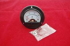 Dc 0 150v Round Analog Voltmeter Voltage Panel Meter Dia 664mm Dh52