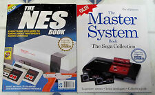 NES Book + SEGA MASTER SYSTEM Book All You Need To Know NINTENDO Retro Gamer NEW
