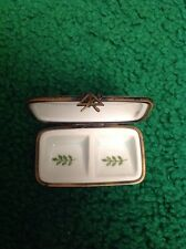 Limoges France Floral Jewelry Box. Unique Eye Sun Crafted.