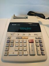 Sharp Corporation EL-2192R Electronic calculator 12 digit. 2 color printer #98A