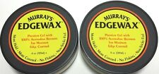BRAND NEW LOT OF 2 MURRAY'S EDGEWAX 4oz PREMIUM GEL WITH 100% AUSTRALIAN BEESWAX