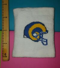 ☆VINTAGE☆ L.A. RAMS NFL Official Team Issued Wrist Band (UNUSED CONDITION)