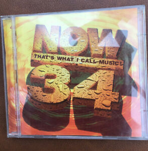 NOW 34 NOW THATS WHAT I CALL MUSIC DOUBLE CD