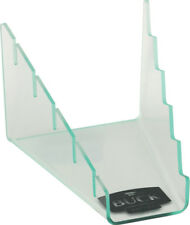 Buck Five Knife Display Stand 5519 Clear acrylic construction with black Buck lo