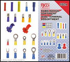 BGS - Crimping & Scotch Lock Cable Lug Set - 160 Pcs - 14105