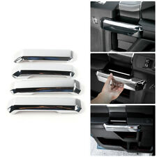 2Pair Inner door handle Chrome Cover trims Kit for 15-17 Ford F150 Accessories g
