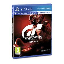 Sony gran turismo Sport PS4