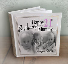 Personalised large luxury photo album, 21st birthday or any age??, gift present