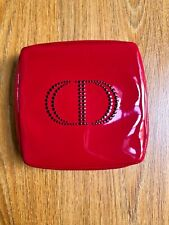 "DIOR RED PATENT MAKEUP POUCH!!! 7,5""/7,5"""