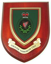 RUC ROYAL ULSTER CONSTABULARY COUNTER TERRORISM CLASSIC HAND MADE  MESS PLAQUE