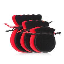 12PC Useful Velvet Drawstring Bag Ring Earrings Necklace Organizer Holder Pouch