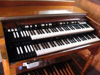 Hammond Organ Model B-3 1968 with Leslie 122 Tone Cabinet, Very good Condition