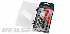 15 Piece Thread Repair Kit M10 X 1.0 X 13.5 mm - helicoil coil Twist Drill Tap
