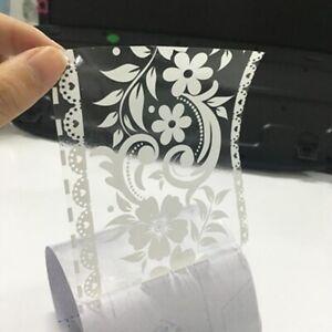 White Sticker Wall Paper Mirror Stiker Window Decoration Pvc Wall Stickers FA