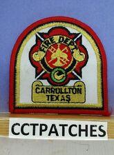 CARROLLTON, TEXAS FIRE DEPARTMENT PATCH