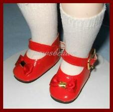 "Classic RED Patent Doll SHOES for 10"" Ann Estelle PATSY 14"" Madame Alexander"