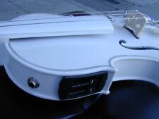 Berkeley Silver White Blue Grass Violin Viola w/ EQ pickup 5 strings or 4