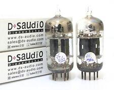 F18 Match pair GE 3 mica black plate 5751 12AX7 ECC83 tube for  amplifier