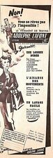 """LYON (69) """" VETEMENTS DE TRAVAIL / ADOLPHE LAFONT """" PUBLICITE 1954"""