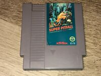 Super Pitfall Nintendo Nes Cleaned & Tested Authentic