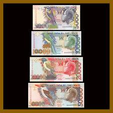 St. Thomas & Prince 5000 - 50000 Dobras (4 Pcs Low Set), 1996 P-65-68 Unc #60