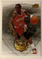 2009-10 Upper Deck Michael Jordan Gold Legacy Collection #6, 1984 NBA Draft!