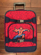 Pottery Barn Kids Spiderman Rolling Suitcase