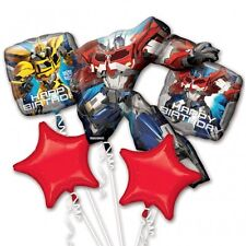 Transformers Party Favor Birthday Bouquet Balloons