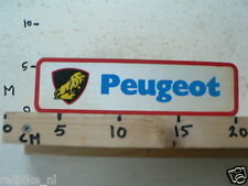 STICKER,DECAL PEUGEOT VINTAGE PEUGEOT LARGE MOTORCYCLE