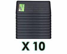BLACK GROWBAG TRAY X10