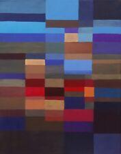 Pintura Abstracta Original Moderno Geométrico Sobre Lienzo