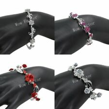 Simulated Flowers & Plants Chain/Link Costume Bracelets