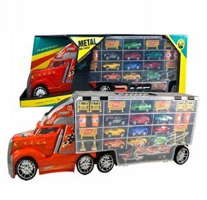 LKW Launcher Fahrzeug Metal Autos Rennwagen Spielzeug Set für Kinder ab 3 Jahren