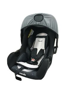 Nania Beone Skyline Black Infant Carrier Car Seat From birth to 13Kg Group 0+