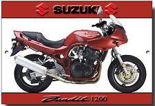 Suzuki Bandit 1200 Motorrad Metall Schild