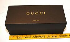 "Gucci Authentic Brown Empty Box 12 1/2 "" x 5 1/2 "" x 4 1/2 """