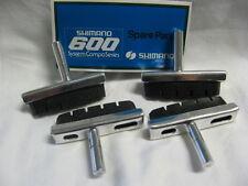 Vintage Bremsschuhe Bremsbeläge Brakeshoes SHIMANO 600 - 4 Stück NOS