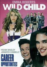 Wild Child / Career Opportunities (2 Movie DVD) Emma Roberts Jennifer Connell